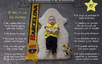 Matías turns 6 months!