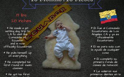 Matías turns 10 months!